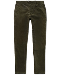 Oliver Spencer Fishtail Cotton Corduroy Trousers