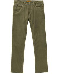 Olive Corduroy Jeans