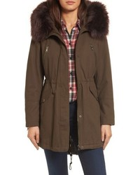Catherine parka with removable faux fur trim medium 4977196
