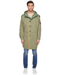 Marc Jacobs Oversized Rip Stop Parka Clothing