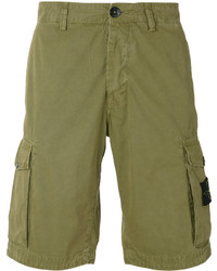 Stone Island Cargo Pocket Shorts