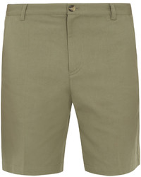 A.P.C. Lawrence Cotton And Linen Blend Shorts