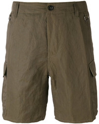 Ermanno Scervino Multi Pocket Cargo Shorts