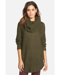 Junior dreamers by debut cowl neck sweater medium 385091
