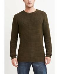 21men 21 Textured Cotton Sweater