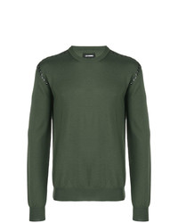 Les Hommes Button Detail Sweater