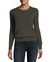 Cashmere collection classic cashmere crewneck sweater medium 4156527