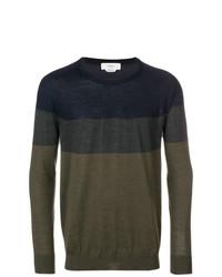 Pringle Of Scotland Colour Block Fine Knit Sweater