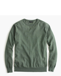 Cotton cashmere crewneck sweater medium 334235