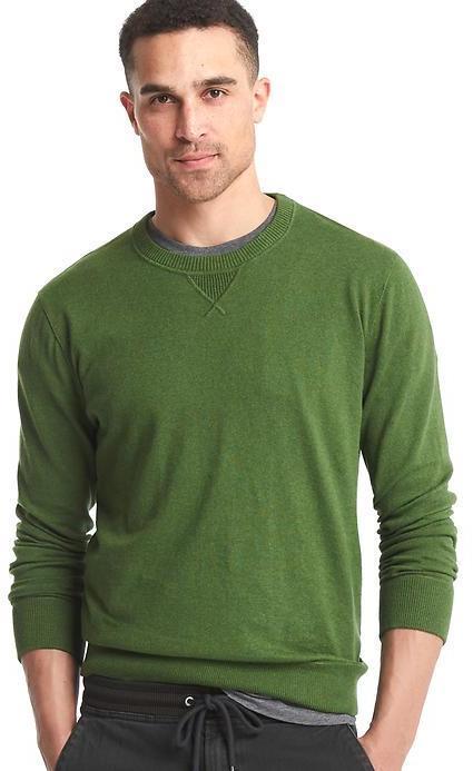 80352f768dce ... Gap Cotton Crewneck Sweater ...