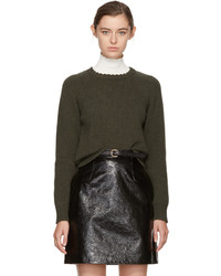 A.P.C. Green Stirling Sweater