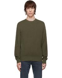 rag & bone Khaki Hemp Piqu Sweatshirt