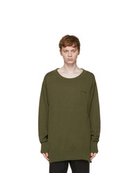 A-Cold-Wall* Khaki Stone Washed Sweater