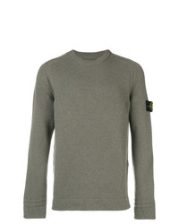 Stone Island Long Sleeve Fitted Sweater