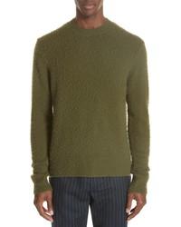 Acne Studios Peele Wool Cashmere Crewneck Sweater