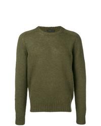 Prada Shetland Knit Sweater