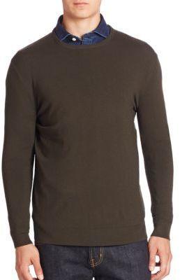9a880c96b Polo Ralph Lauren Slim Fit Crewneck Sweater, $165 | Saks Fifth ...