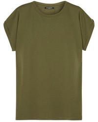Olive Crew-neck T-shirt