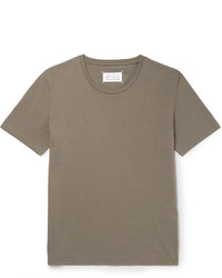 Maison Margiela Cotton Jersey T Shirt