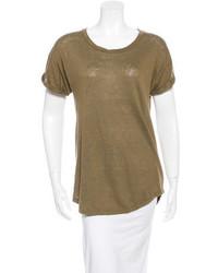 Isabel Marant Crew Neck Short Sleeve T Shirt