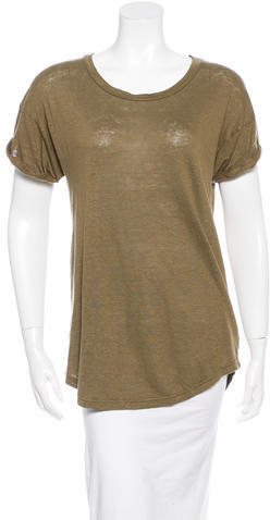 Isabel Marant Crew Neck Short Sleeve T Shirt