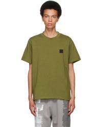 A-Cold-Wall* Green Jersey Logo T Shirt