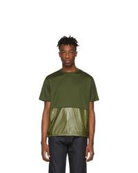 Moncler Green Maglia Combo T Shirt
