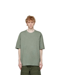 Maison Margiela Green Oversized T Shirt