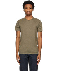 Tom Ford Green Viscose T Shirt