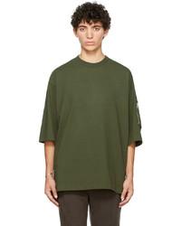 Undercover Khaki Zip T Shirt