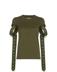 MARQUES ALMEIDA Marquesalmeida Cotton T Shirt With Straps
