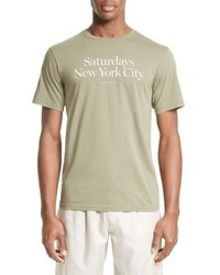 Saturdays Nyc Miller T Shirt