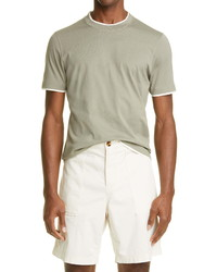 Brunello Cucinelli Slim Fit Cotton T Shirt