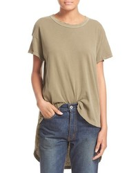 The shirttail highlow tee medium 441425
