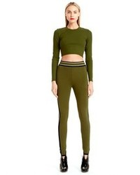 Olive cropped top original 3989802