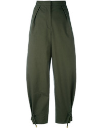 Kenzo Cropped Wide Leg Trousers
