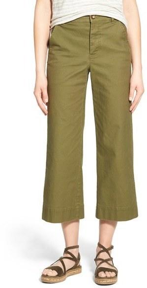 50cf931811 ... Madewell Langford Wide Leg Crop Pants ...