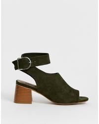 ASOS DESIGN Trina Peep Toe Shoe Boots