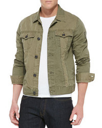 Jimmy military jacket olive medium 38764