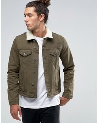 Olive Denim Jackets for Men | Men's Fashion