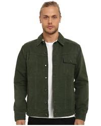 Tanner twill on denim jacket medium 375626