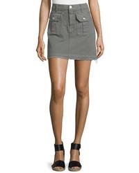 Utility pocket mini skirt moss medium 791701