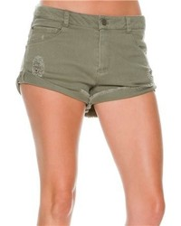 Belay cut off denim short medium 132886