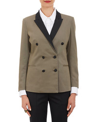 Band Of Outsiders Bi Color Double Breasted Blazer
