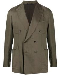 Brioni Double Breasted Blazer Jacket