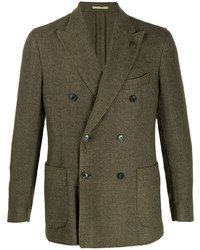 Gabriele Pasini Double Breasted Fitted Blazer