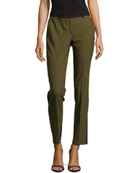 Michael Kors Michl Kors Samantha Two Tone Slim Pants