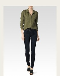Amita shirt desert olive medium 469582