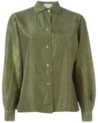 Emilio Pucci Vintage Satin Shirt