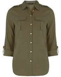 Khaki Military Shirt